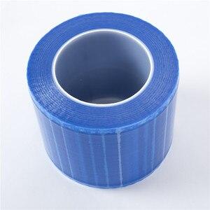 Image 4 - Cor azul do filme descartável da barreira da superfície da tatuagem da caixa de emalla microblading 1 para accesorios permanentes da tatuagem da composição acessórios
