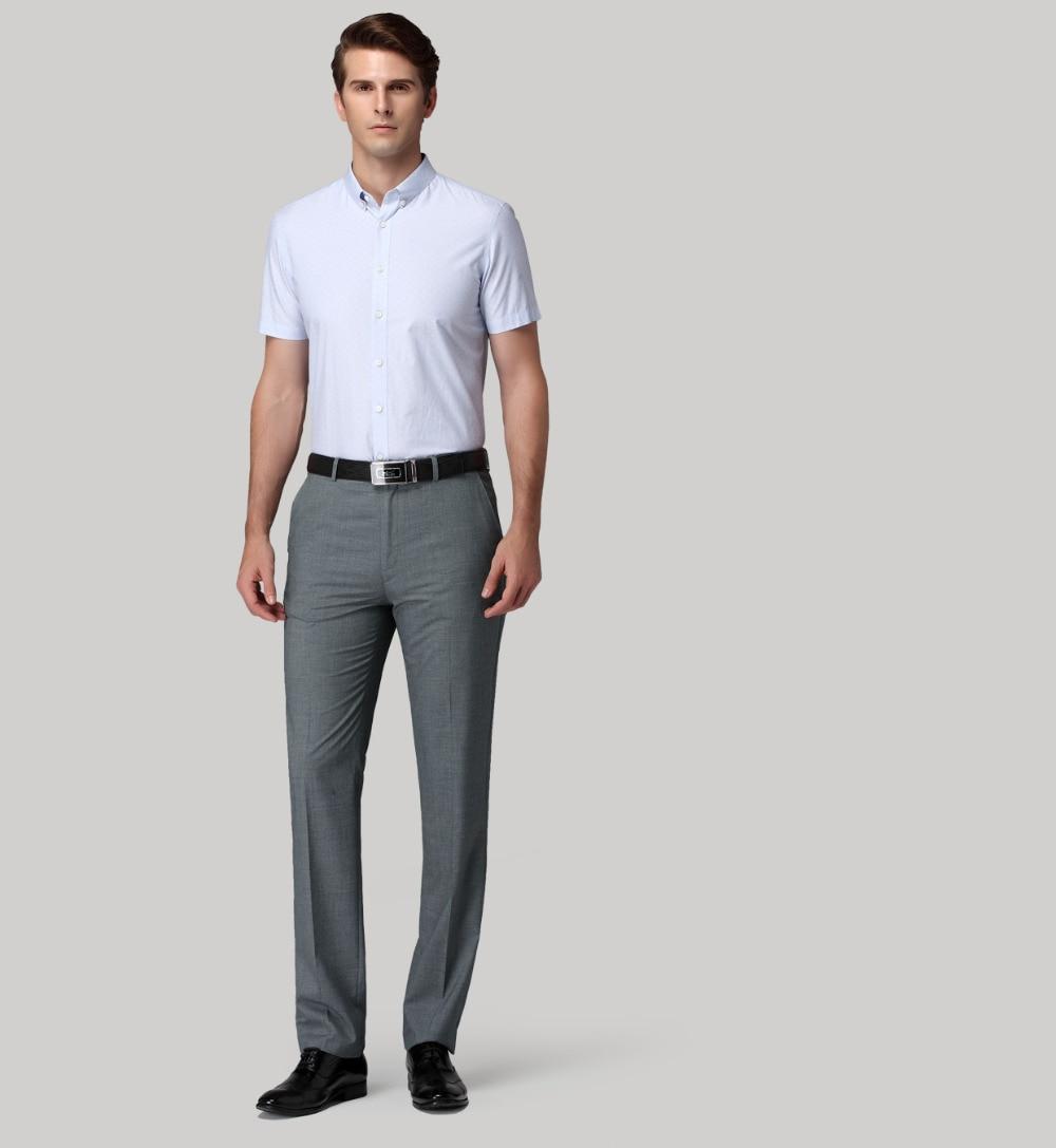 Aliexpress.com : Buy 2016 Mens Dark Grey Flat Front Suit Separate