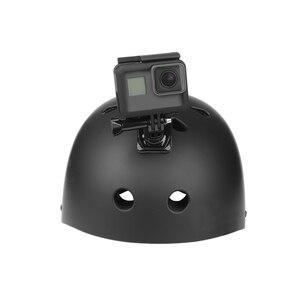Image 5 - Ateş 360 derece döndür hızlı bırakma toka dikey yüzey j kanca dağı GoPro Hero 9 8 7 5 sjcam Yi 4K Eken eylem kamera