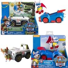 Orijinal Paw devriye oyuncak araba Apollo izci var kutuları Ryder Skye kaydırma aksiyon figürü Anime şekilli kalıp PVC oyuncak çocuklar için hediye