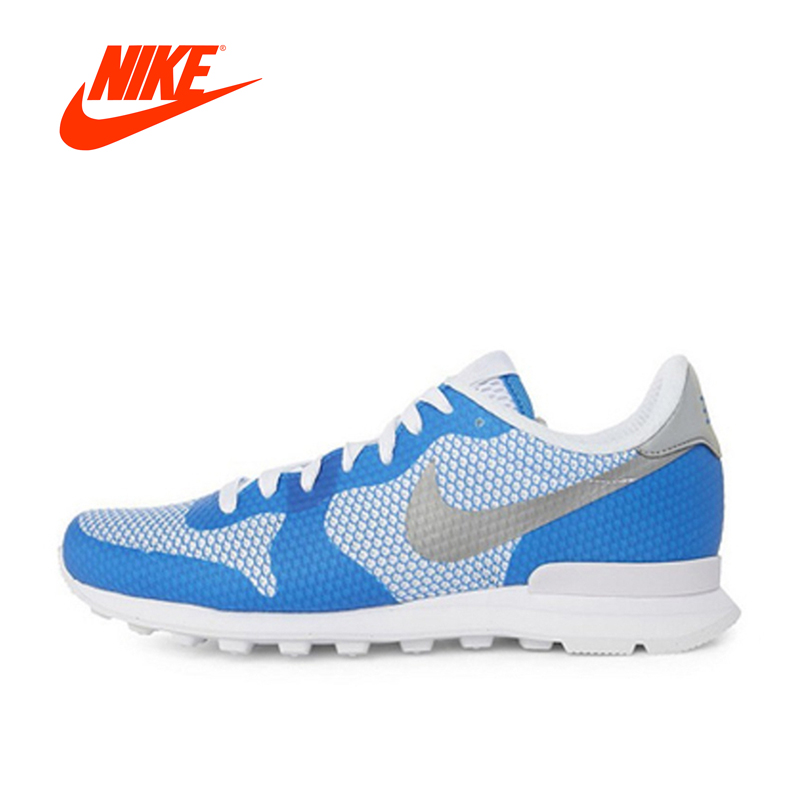 Original New Arrival Official NIKE Breathable INTERNATIONALIST Men's Running Shoes Sneakers Outdoor Walking Jogging Athletic valentino шаль