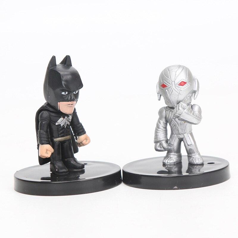 4-5 սմ 12 հատ / սահմանել Marvel Toys The Avengers Figure - Խաղային արձանիկներ - Լուսանկար 6