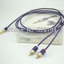 Freies Verschiffen ADL ID-35R/1,2 Audio grade i-gerät kabel 3,5 stereo RCA mini-anschluss