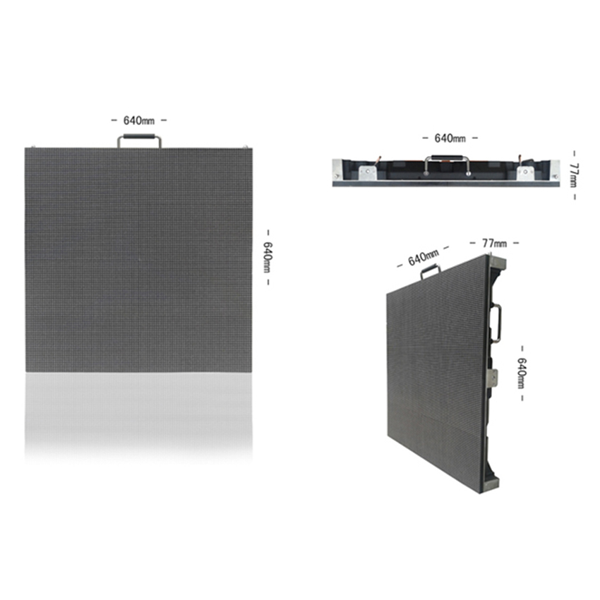 Waterproof P5 SMD2727 Outdoor Led Display 640X640mm Die Casting Aluminium Cabinet, Full Color Led Panel, Led Billboard Screen