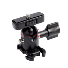 For Go Pro Accessories Aluminum Ball Joint Set Mount Adapter Holder for Gopro Hero 5 4 3 2 Xiaomi Yi Action & Digital Cameras