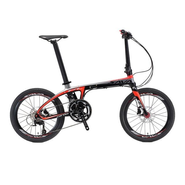 Online Shop SAVA Folding Bike Carbon Fiber Frame 20 inch SHIMANO 22 ...