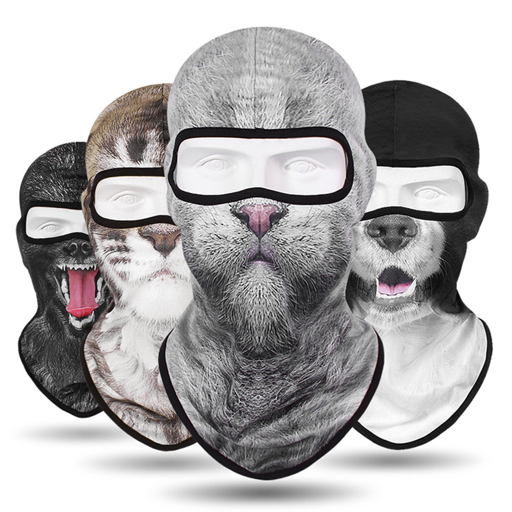 New Balaclava Animal Motorcycle Mask Tactical Balaclava Face Shield Breathable Face Mask Motorcycle Biker Moto Helmet Skull Mask