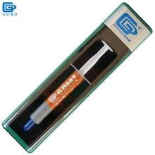 GD Бренд Теплопроводности Пасты Смазка Силиконовая GD007 Радиатора соединение Прохладный Высокие Серый Вес Нетто 3 Г 6.8 Вт/MK BX3