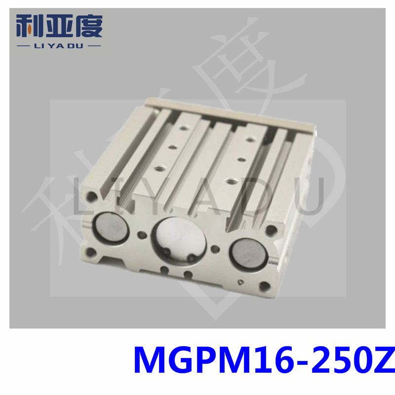 Type MGPM16-250 Thin cylinder with rod  Three axis three bar MGPM16*250 MGPL16*250 Pneumatic components MGPM16X250 MGPL16X250Type MGPM16-250 Thin cylinder with rod  Three axis three bar MGPM16*250 MGPL16*250 Pneumatic components MGPM16X250 MGPL16X250