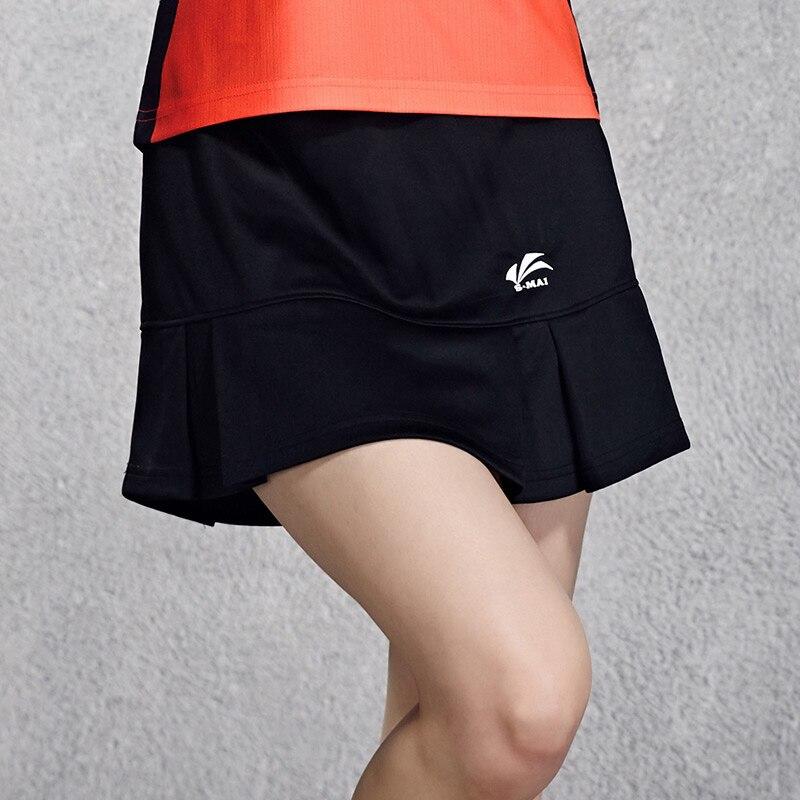 Sport Tennis Badminton Rock Skort Schnell Trocken Atmungs Schlank Solide Badminton Rock Tennis-skorts Skorts