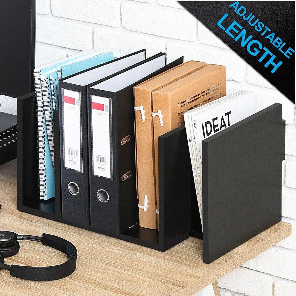 FITUEYES Extension Book Rack Desk Bookshelf Organiser for