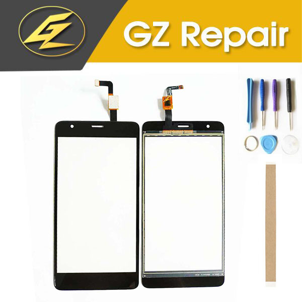 High Quality 5.5 Inch For Fly Power Plus FHD FS554 Touch Screen Glass Lens Digitizer Glass Sensor Replacement With Tools Tape image