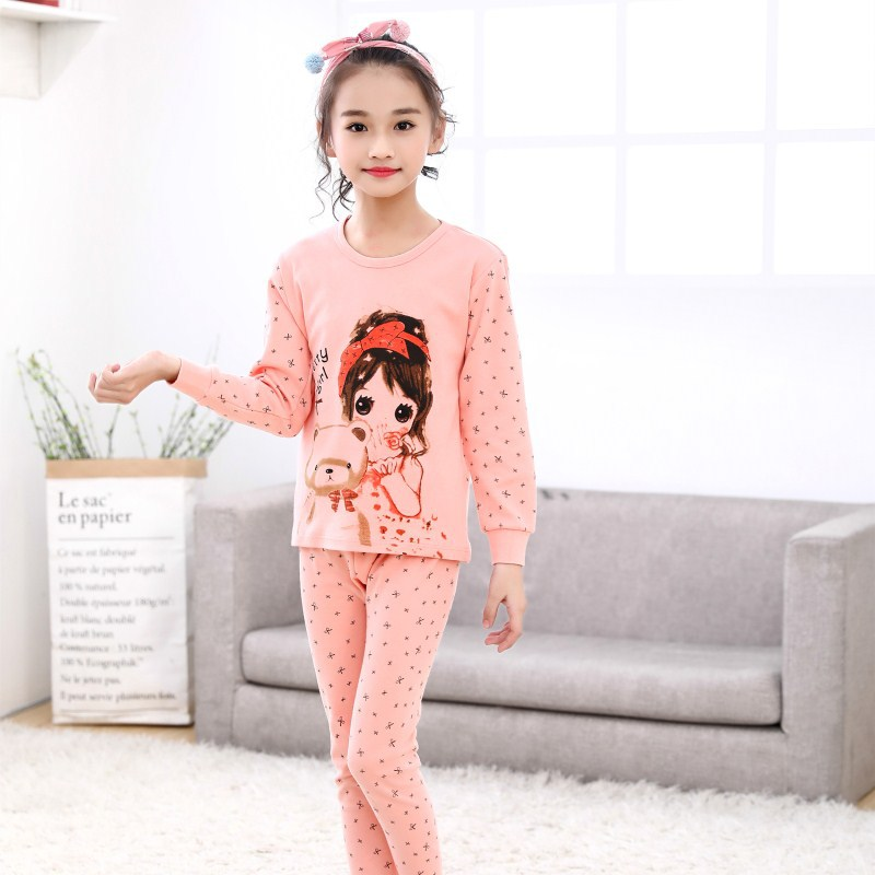 SAILEROAD Baby Girls   Pajamas   Kids Pyajamas   Set   Cartoon Cute Lovely Girl   Pajamas   Pijama Infantil Child Home Wear Children Pijama