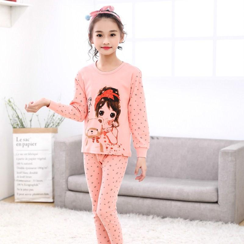 SAILEROAD/Пижама для маленьких девочек детский набор пижам Мультяшные милые очаровательные пижамы для девочек пижама для детей Детская домашняя одежда детская пижама