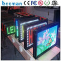 programmable led message display panel board DMX indoor led scrolling text board p4 p4.75 p10 message outdoor led scroll leeman