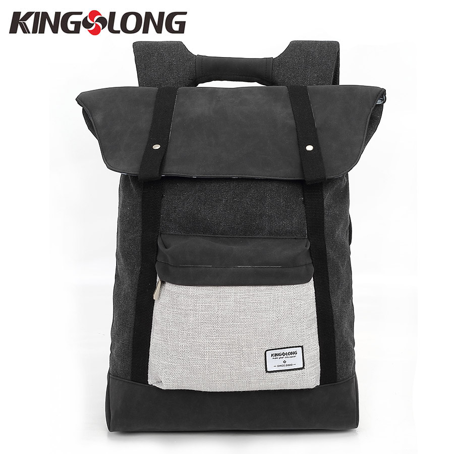 KINGSLONG 2018 New Stylish Travel Large Capacity Backpack Male Notebook Computer Backpac ...
