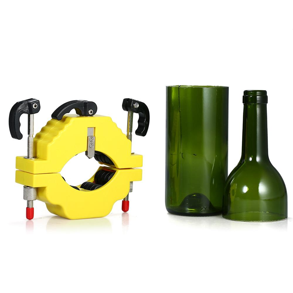 Bottle-Cutter Sculptures Cutting-Control Glass Flowerpot-Making Create Beer Stainless-Steel