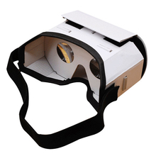 2018 Light Castle Card Style Virtual Reality VR BOX II Glasses For 3.5 - 6.0 inch Smartphone Glass for iphone for samsung