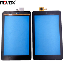 RLGVQDX New 7 For Dell T01C Venue 7 3730 Touch Screen Black High Quality Replacement Glass new vnxii 400d touch screen perfect quality