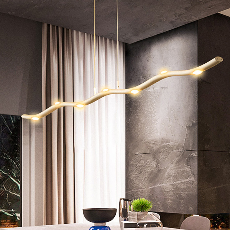 New Creative Modern Led Chandelier For Living Room Bedroom Dining Room Study Room Dimmable+RC Hanging Chandelier Fixtures