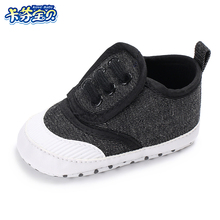 Newborn toddler First Walkers shoes Baby Boy Girl sneakers Fashion leisure soft bottom canvas shoes 0-18 Months
