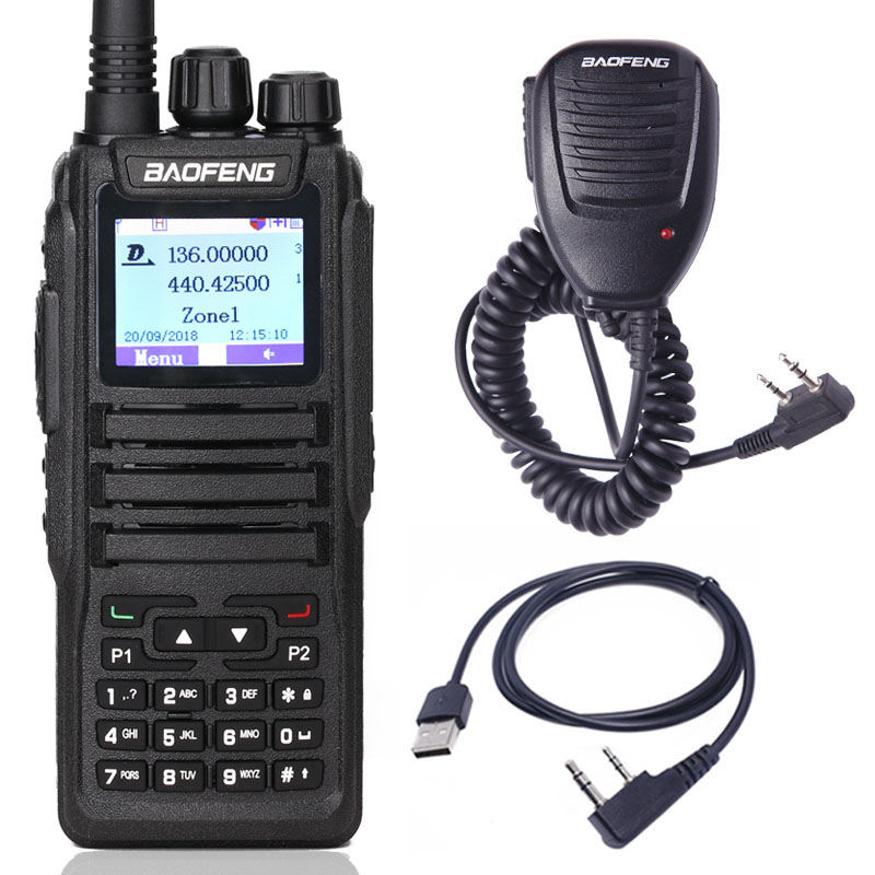 Baofeng Transceiver-Level Radio-Station Walkie-Talkie DMR Amateur Digital Dual-Band Two-Way-Radio