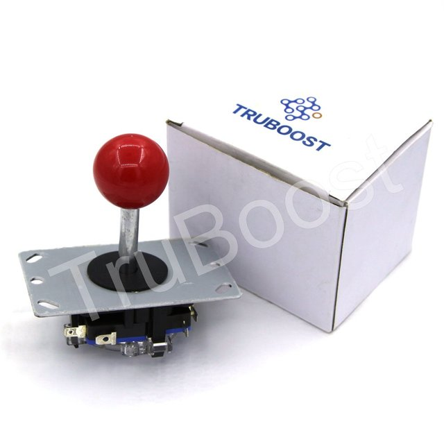 Red/black/blue/green/yellow/white Colorful Arcade joystick DIY Joystick Ball 4/8 Way Joystick Fighting Stick Parts