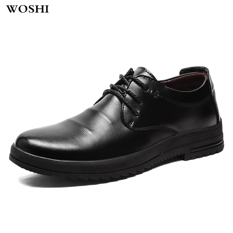 genuine leather Fashion Men's Lace-Up Oxfords Dress Shoes Mens Business Office Wedding Flats Man Casual Party wedding Shoes k4 2017 fashion men shoes genuine leather mens lace up casual dress business wedding party carving shoes zapatos zapatillas hombre