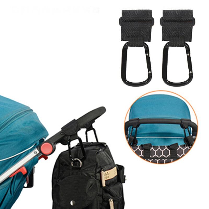 2 Teile/satz Kinderwagen Haken Rollstuhl Kinderwagen Pram Wagen Tasche Aufhänger Haken Baby Kinderwagen Einkaufstasche Clip Kinderwagen Zubehör GroßE Sorten