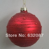 Glass X Mas Ball Christmas Ornaments Glass Festival Gifts