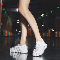 Fashion Socks Shoes Comfortable Mesh Sneakers Platform Women Casual Shoes Outdoor Walking Footwear Couple Shoes Chaussures Femme