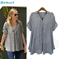 Durable 2016 Summer style t shirt women  PLUS SIZE Loose Pullover Tops  women harajuku