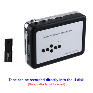 Image 2 - เครื่องเล่นเทปคาสเซ็ทUSB Cassette TapeเพลงเสียงMP3 Converter Recorderเครื่องเล่นบันทึกMP3แฟ้มUSBแฟลช/USBไดรฟ์