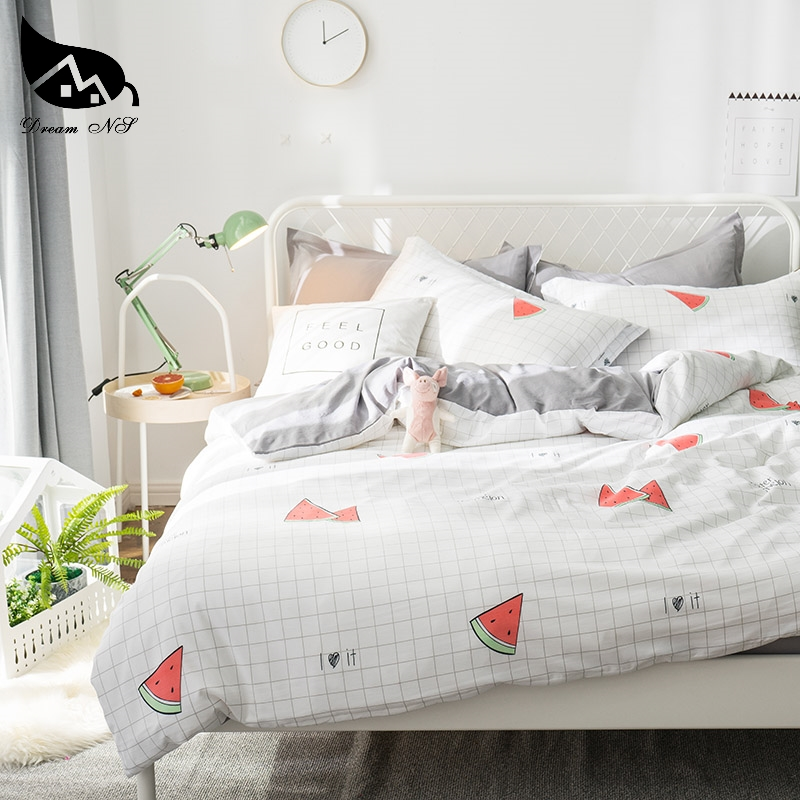 Washed Cotton Comfort Ultra Soft Duvet Cover Set for Comforter All Season Quilt