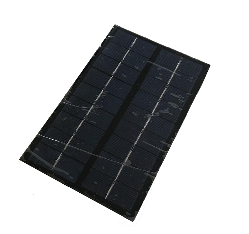 5 pcs Mini 9V 3W Portable Solar Panel Power System DIY Battery Cell Charger Module