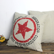 Creative London 2009 Immigration and Customs Seal Cotton Pillow  Cushion  Including Pillows Core