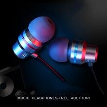 Kinganda 5 Fones de Ouvido Com Fio do Fone de Ouvido Para O Telefone Móvel Cores 3.5mm No Esporte Ouvido Micro Fone De Ouvido Para iPhone Xiaomi fone de ouvido com Microfone