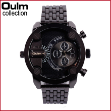 Men's Stainless Steel Fashion Watch Oulm Brand Luxury Sport Wristwatches Man