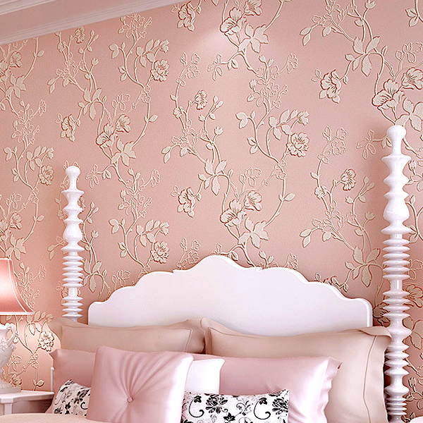 Aliexpresscom Buy Modern Garden Flower Print Living Room - Bedroom wallpaper