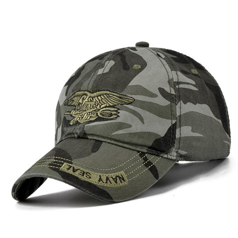 Men Women Baseball Cap Snapback Hombre Camouflage Military Army Camo Hat Trucker
