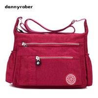 2017 Fashion Women S Waterproof Nylon Messenger Bags Handbags Shoulder Bags Girls Casual Crossbody School Bag