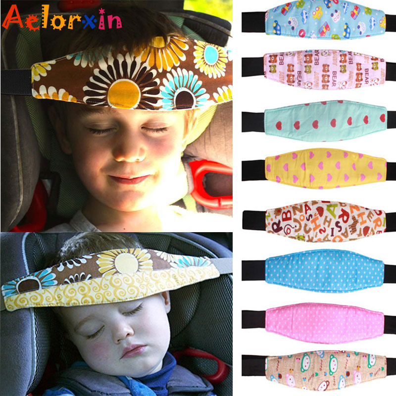 Newborn Infants and Baby Head Support Pram Stroller Accessaries Car Safety Seat Fastening Belt Adjustable Car