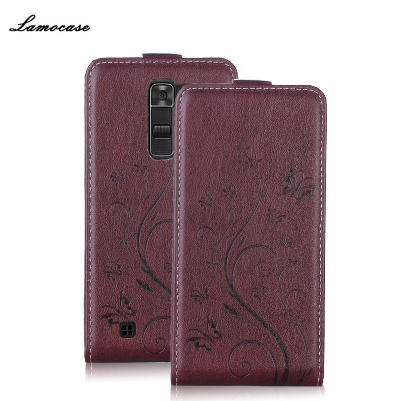Galleria fotografica Flip Case En Cuir Pour LG K7 X210 X210DS MS330/hommage 5 LS675/K7 Dual SIm/K3/K4/K100DS/K120E/K130E/G4/H815 Téléphone Sacs et Case