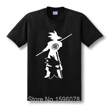 New Arrive Japan anime Dragon Ball Z T Shirt Super Saiyan fluorescent men Son Goku Tees Tops Men Clothes Plus size T-shirt