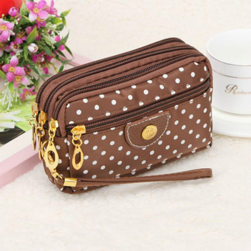 Purse Ladies Coin Multilayer Mini Canvas Bag Small Messenger Crossbody Bags For Women Female Wallet Carteira Feminino Sac T