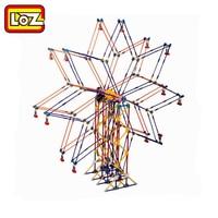 LOZ 2026 Motor Building Block Ferris Wheel Toys Electric Gear Blocks Bricks Battery Engine Amusement Park Toy City DIY Model Kid