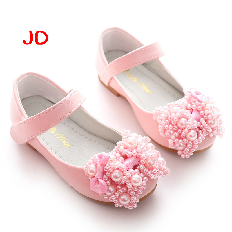 Children Shoes Girls Sandals sequins Bow Princess leather shoes Girls Casual Shoes dance shoes New Summer Autumn