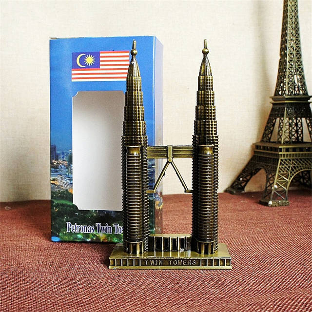 Online Shop Mini World Architecture Malaysia Petronas Twin Towers