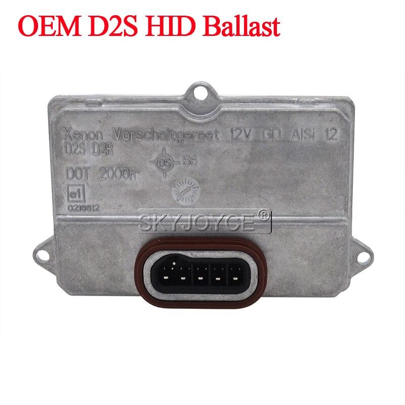 Mercedes 03-06 E500 D2S D2C 6000K Pure White OEM HID Headlight Bulb 1 Pair