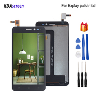 For Explay pulsar LCD Display Touch Screen Assembly Replacement For Explay pulsar Screen LCD Display Phone Parts Free Tools